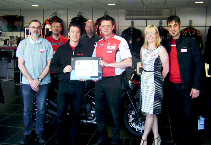 ducati dealer of the year award