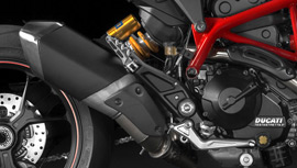 Hypermotard parts and accessories