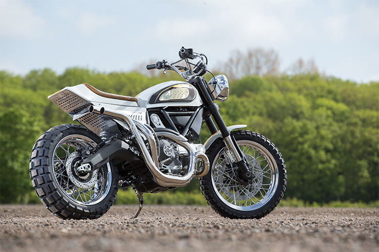 custom ducati scrambler uk