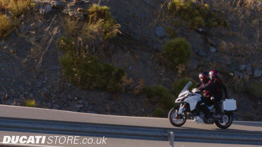 Multistrada 1260  riding modes