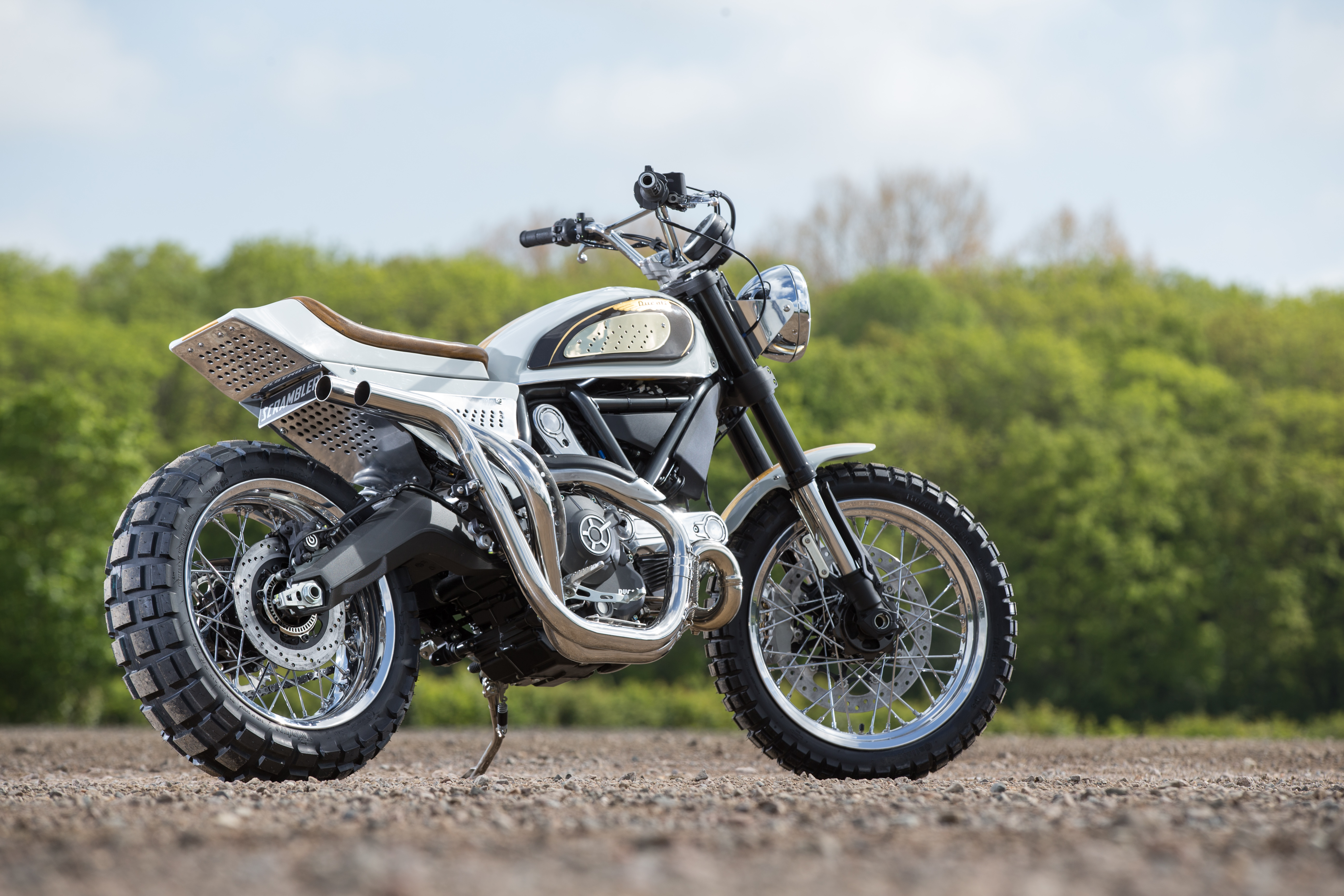 Bike Modified Parts >> Ducati Store News | DMC 'Eccythump' Scrambler – Custom Scrambler