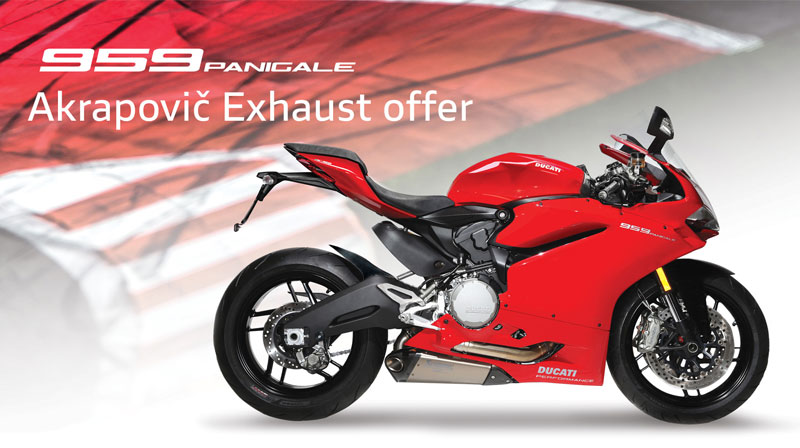 Ducati Store News 959 Panigale Akrapovic Offer Save Up To 2700