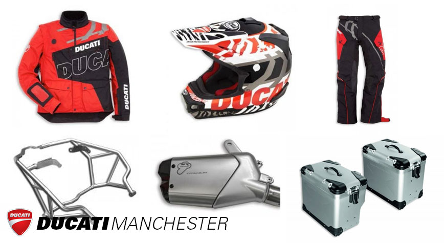 ducati stoke news | £1000 free accessories or clothing – ducati