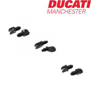 Ducati by Rizoma Bar End Counterweight Adapters for Panigale