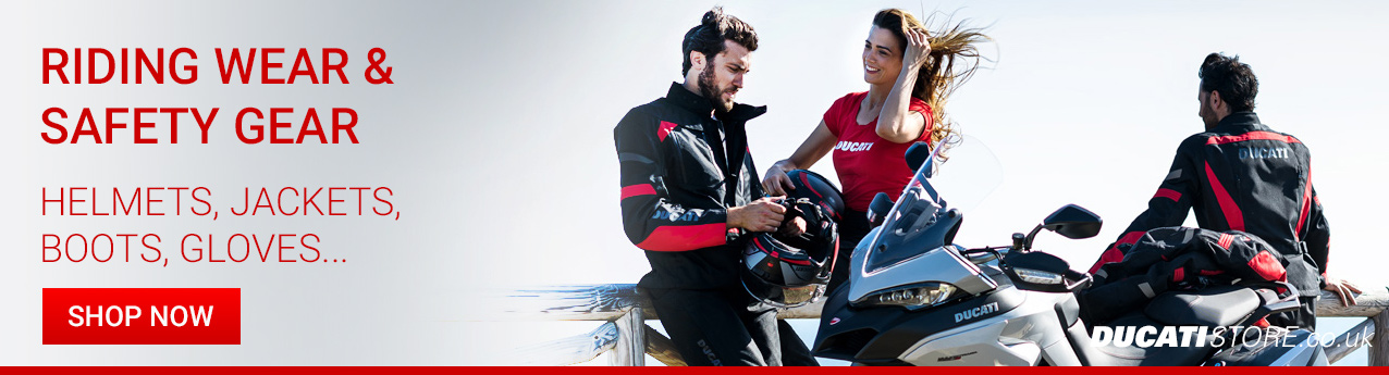 Ducati Safety and Riding Wear